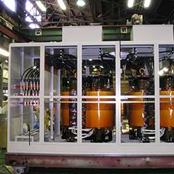 Transformers & Power Systems|Products|Tokuden Co , Ltd