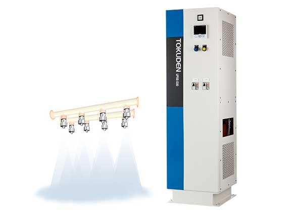 D Series|UPSS Superheated Steam Generator|Products|Tokuden Co., Ltd.